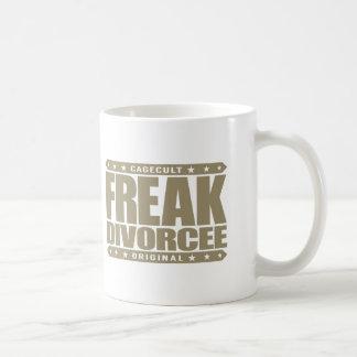 FREAK DIVORCEE - Beast Mode: Newly Divorced Wife Coffee Mug