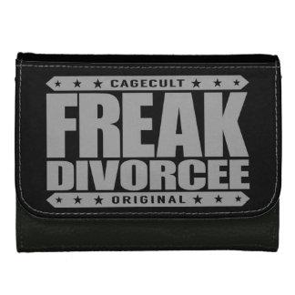 FREAK DIVORCEE - Beast Mode: Newly Divorced Wife Leather Wallet For Women