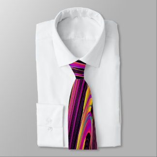 Freak Flag Psychedelic Hippy Couture Neck Tie
