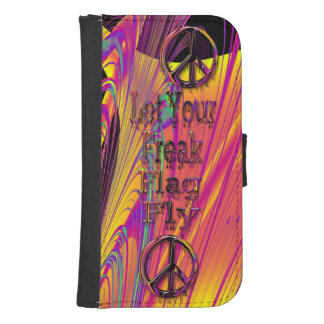 Freak Flag Psychedelic Hippy Couture Phone Wallet Cases