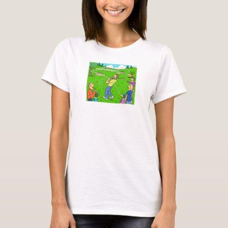 Freak Golf Shot Rebounds T-Shirt