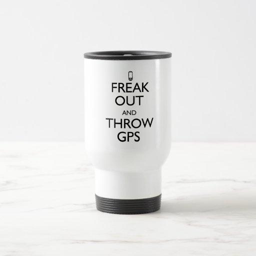 Freak hacia fuera tazas de café