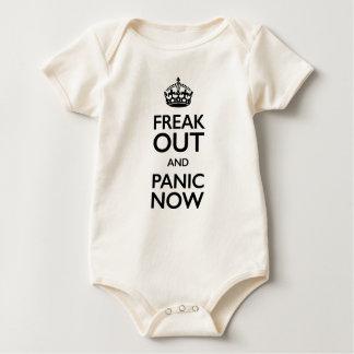 freak hacia fuera y ahora atiérrese body para bebé
