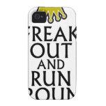freak hacia fuera y corra alrededor de tees.png vibe iPhone 4 carcasas