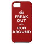Freak hacia fuera y corra alrededor iPhone 5 cárcasas