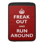 Freak hacia fuera y corra alrededor funda macbook air