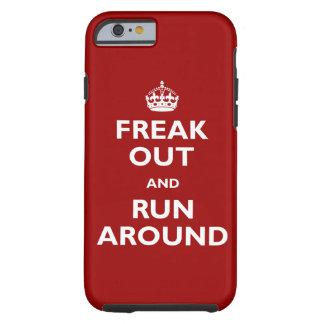 Freak hacia fuera y corra alrededor funda de iPhone 6 tough