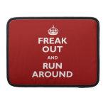 Freak hacia fuera y corra alrededor fundas macbook pro