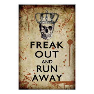 Freak hacia fuera y funcione con el poster ausente