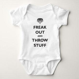 Freak hacia fuera y lance la materia body para bebé