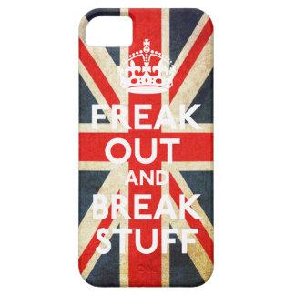 Freak hacia fuera y rompa la caja de la casamata iPhone 5 funda
