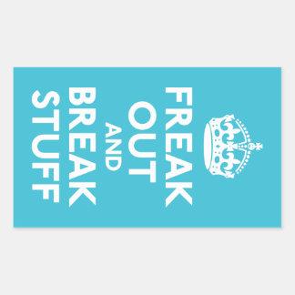 Freak hacia fuera y rompa la materia rectangular altavoces