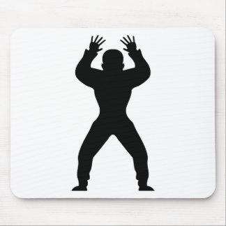 freak handball icon mouse pad