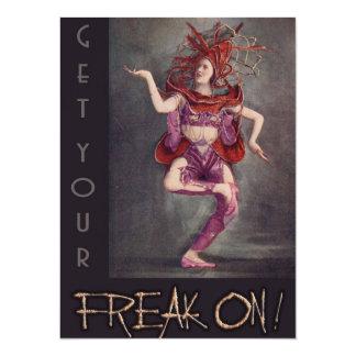 Freak Night Card