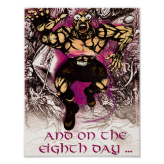 Freak Of Nature - and on the Eighth Day... Poster