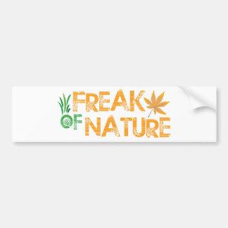 Freak of Nature Car Bumper Sticker