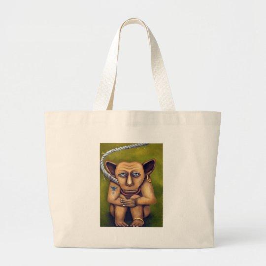 Freak on a Leash Large Tote Bag