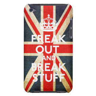 Freak Out And Break Stuff Casemate Case iPod Touch Case-Mate Case