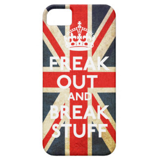 Freak Out And Break Stuff Casemate Case iPhone 5 Cases