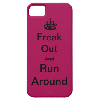 Freak Out And Run Around iPhone SE/5/5s Case
