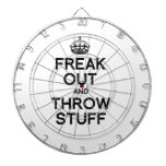 FREAK OUT AND THROW STUFF -.png Dartboard