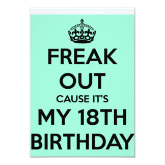 FREAK OUT CARD