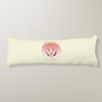 Freak Out: Drawing of a Girl Body Pillow