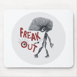 FREAK OUT MOUSE PAD