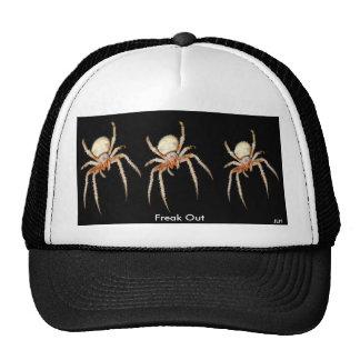 Freak Out on Black Trucker Hats