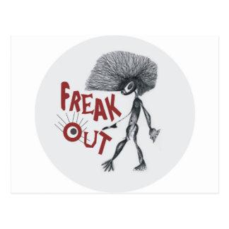 FREAK OUT POSTCARD