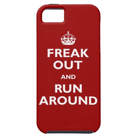 Freak Out & Run Around iPhone SE/5/5s Case