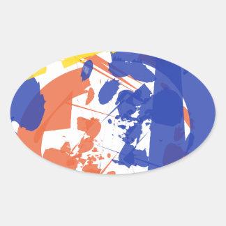 Freak Oval Sticker