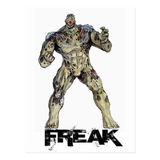 Freak Postcard