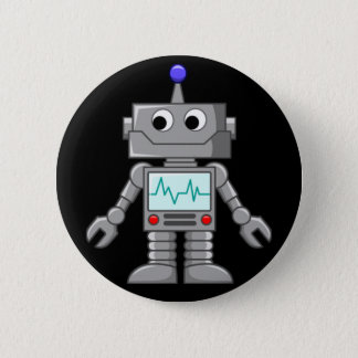 Freak robot button
