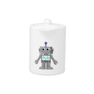 Freak robot teapot