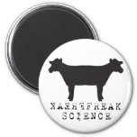 Freak Science Cow 2 Inch Round Magnet