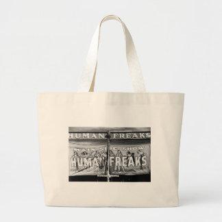 Freak Show, 1940s Canvas Bag