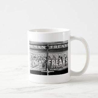 Freak Show, 1940s Coffee Mug