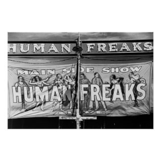 Freak Show: 1941 Posters