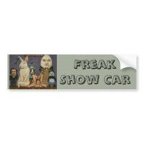 Freak Show Bumper Sticker