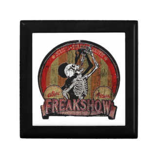 Freak Show Jewelry Box