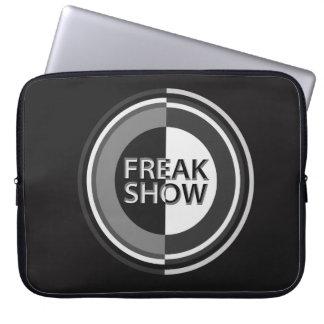 Freak show. laptop sleeve