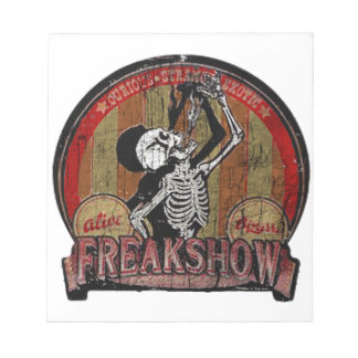 Freak Show Notepad