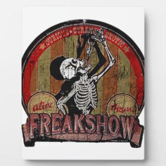 Freak Show Photo Plaques