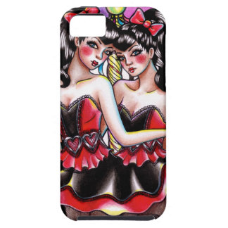 Freak Show Series - Conjoined Twins iPhone SE/5/5s Case