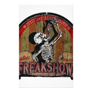 Freak Show Stationery