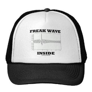 Freak Wave Inside (Oceanography Humor) Trucker Hat
