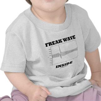 Freak Wave Inside (Oceanography Humor) T-shirt