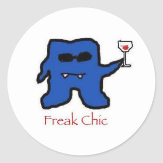 Freakchic Classic Round Sticker