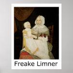 Freake Limner Mrs Elizabeth Freake and Baby Mary Poster